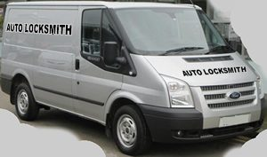 mobile emergency car locksmith in Rhyl workshop van